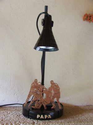 Lampe de bureau rugby